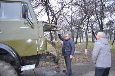 В Конотопському районі відремонтували КАМАЗ для бійців АТО(Фото) (фото) - фото 2