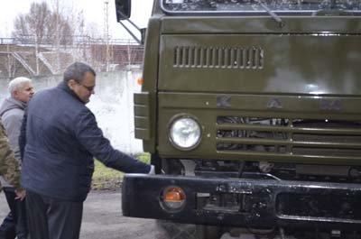 В Конотопському районі відремонтували КАМАЗ для бійців АТО(Фото) (фото) - фото 1