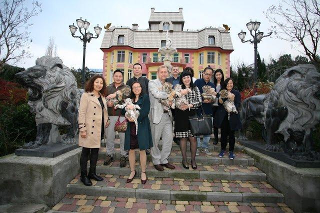 Китайская делегация посетила ялтинскую «Сказку», фото-2