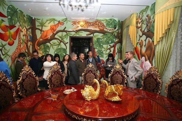 Китайская делегация посетила ялтинскую «Сказку», фото-1