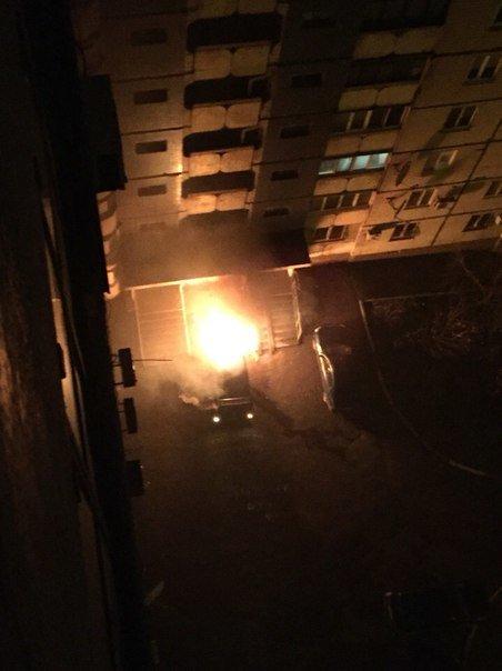 В Кривом Роге: «заминировали» горисполком, поменяли члена ТИК от БПП, сгорел «Mercedes» (фото) - фото 1