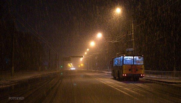 Ночью Краматорск накрыло снегом (ФОТО) (фото) - фото 10