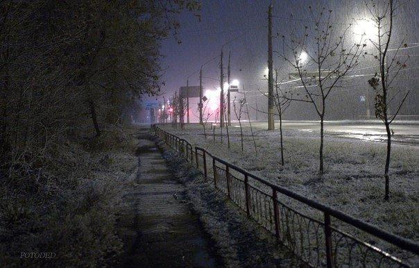 Ночью Краматорск накрыло снегом (ФОТО) (фото) - фото 8