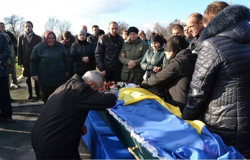 На Вінниччині попрощалися із бійцем «Донбасу» (фото) - фото 1
