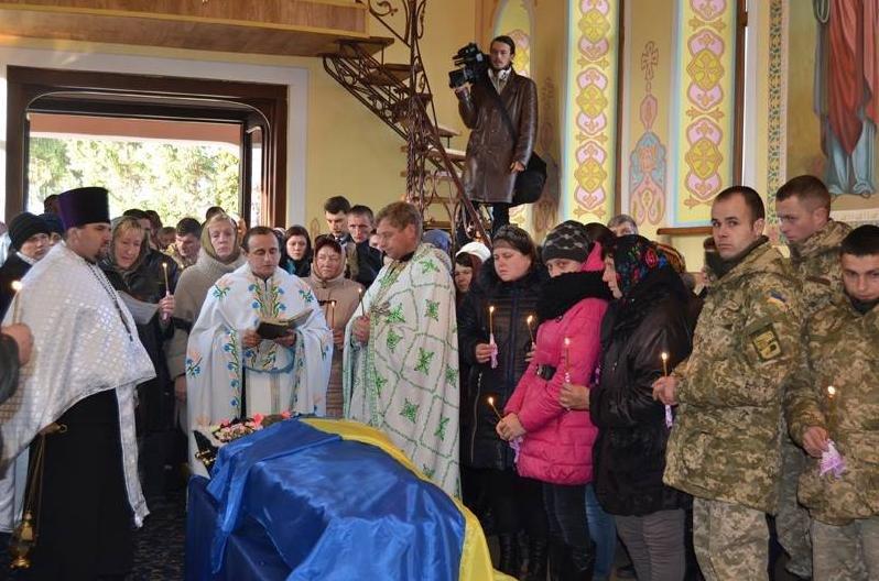 На Вінниччині попрощалися із бійцем «Донбасу» (фото) - фото 2