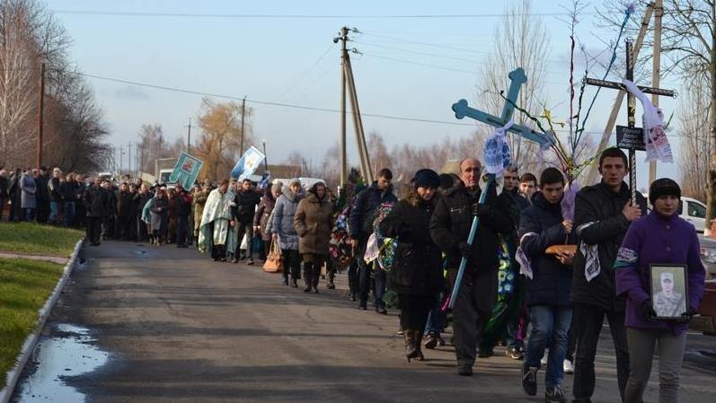 На Вінниччині попрощалися із бійцем «Донбасу» (фото) - фото 3