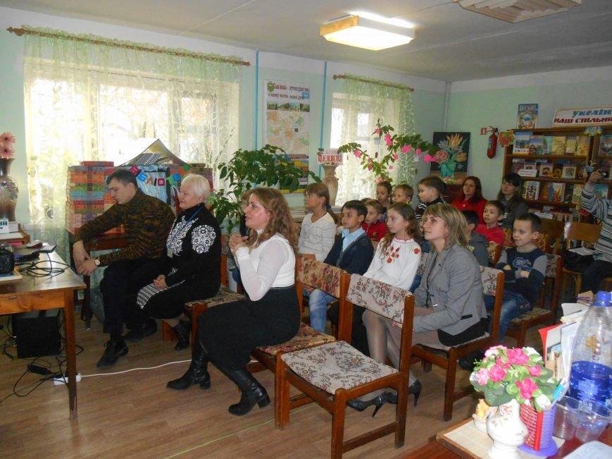 У Дитячій центральній бібліотеці Слов'янська прошла скайп-зустріч із Луцькими школярами (фото) - фото 1