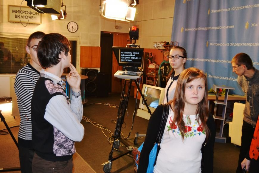 У Житомирі провели профорієнтаційний проект «Хочу, можу, буду!» для дітей, які мають порушення зору (фото) - фото 1