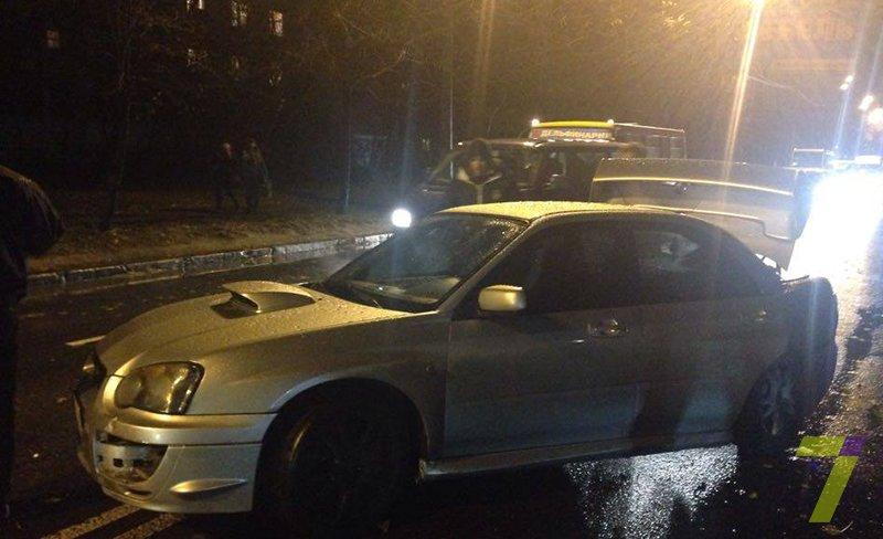 a2c870a1a55d807ef8599bddcd0555ff В Одессе из-за скользкой дороги произошло тройное ДТП