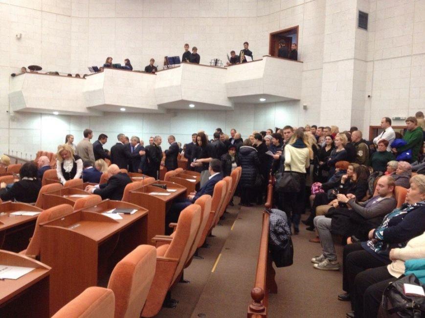 Первая сессия: новоизбранные депутаты Днепропетровского горсовета вступают в права, фото-2