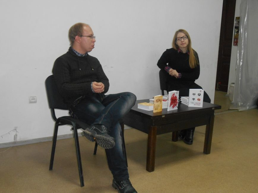У Теплиці відбулась презентація книжок Вікторії Амеліної та Олексія Чупи (фото) - фото 1