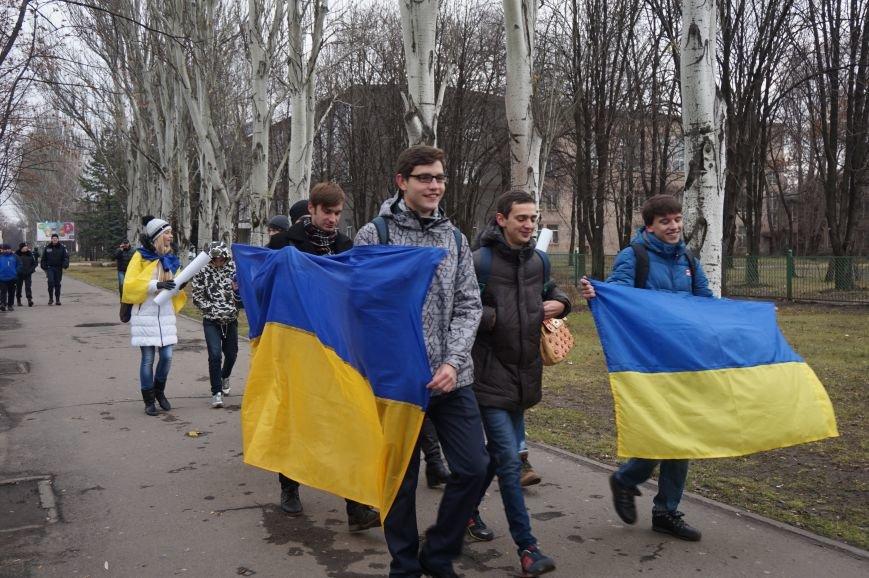 Студенты Криворожского педагогического института вышли на митинг «За честные выборы» (ФОТО) (фото) - фото 3