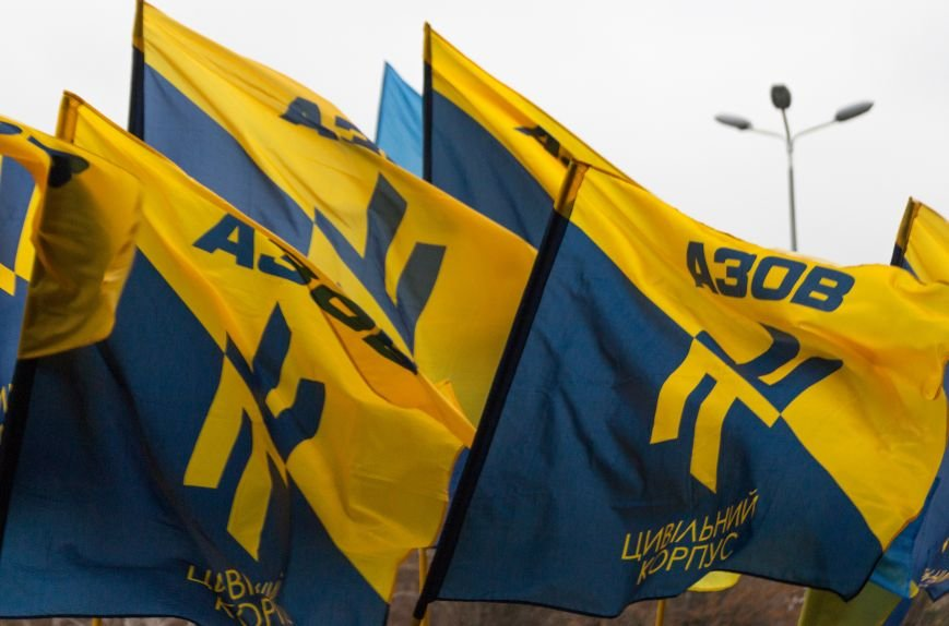 1fb4ea0dbade55cd52c17688118f96fc Активисты «АЗОВА» нанесли «вежливый» визит Одесскому облсовету