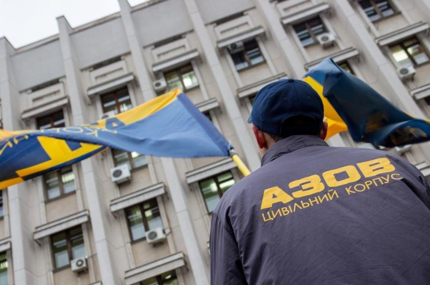 5e94a5e7a2534cc0d4d550a4fb051745 Активисты «АЗОВА» нанесли «вежливый» визит Одесскому облсовету