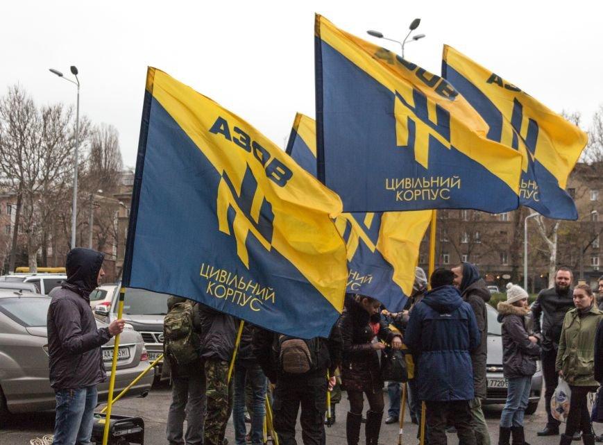 c27f73cadda684ce956739b57a234731 Активисты «АЗОВА» нанесли «вежливый» визит Одесскому облсовету