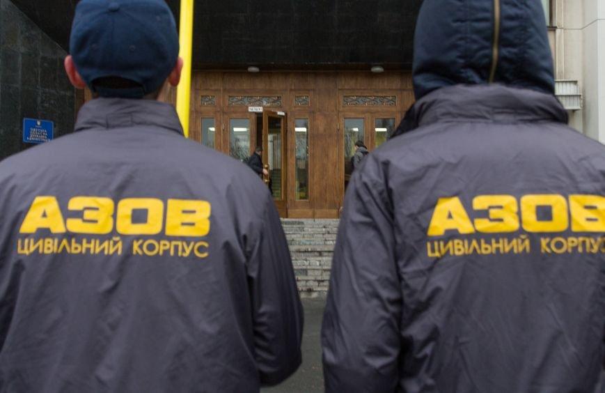 ca121da1a9a609f70bce9c50d447abb4 Активисты «АЗОВА» нанесли «вежливый» визит Одесскому облсовету