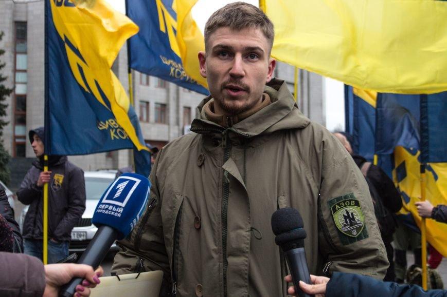 eb3f457b0fd48319f0ef638eb9ef3848 Активисты «АЗОВА» нанесли «вежливый» визит Одесскому облсовету