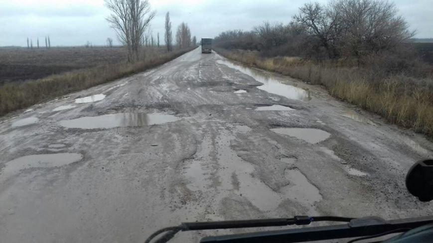Привет ямам: дорога на Николаевщине напоминает фильм ужасов (ФОТОФАКТ) (фото) - фото 4