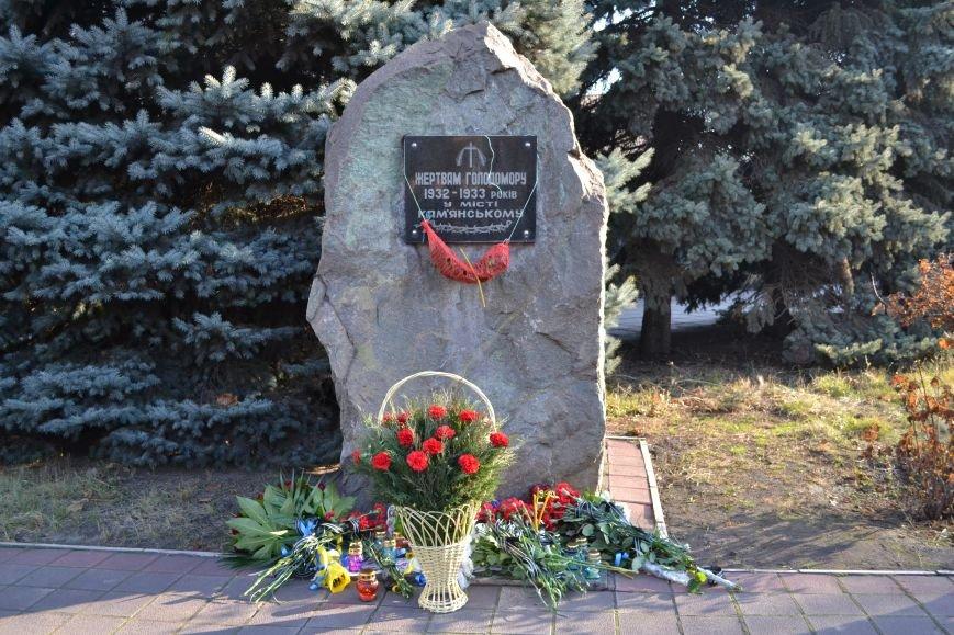 В Днепродзержинске почтили память жертв Голодомора, фото-17