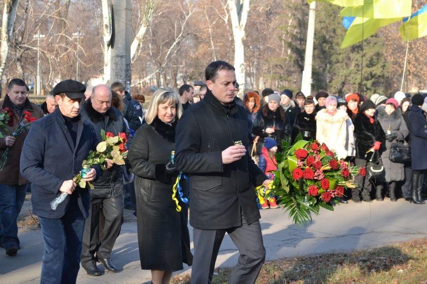 В Днепродзержинске почтили память жертв Голодомора, фото-13