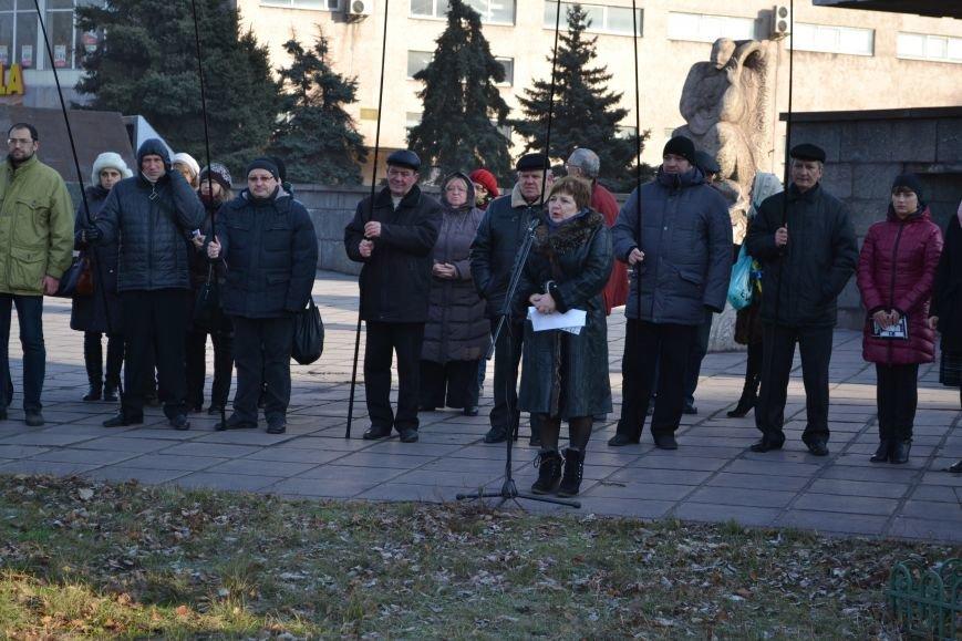 В Днепродзержинске почтили память жертв Голодомора, фото-1