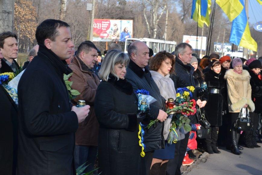В Днепродзержинске почтили память жертв Голодомора, фото-12