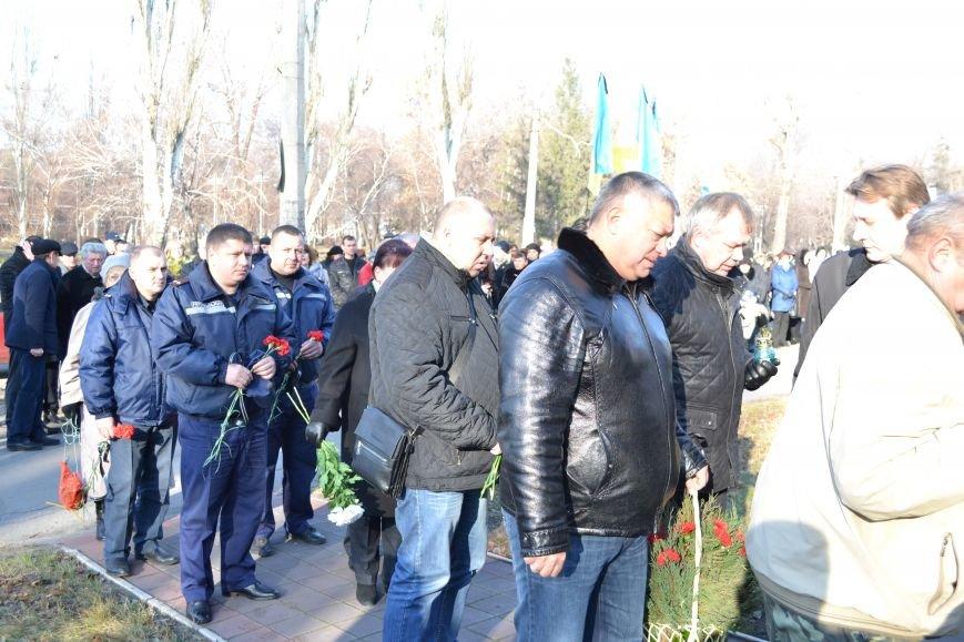 В Днепродзержинске почтили память жертв Голодомора, фото-16