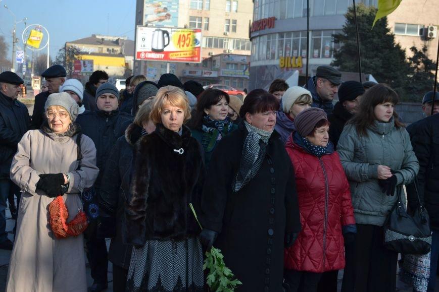 В Днепродзержинске почтили память жертв Голодомора, фото-4