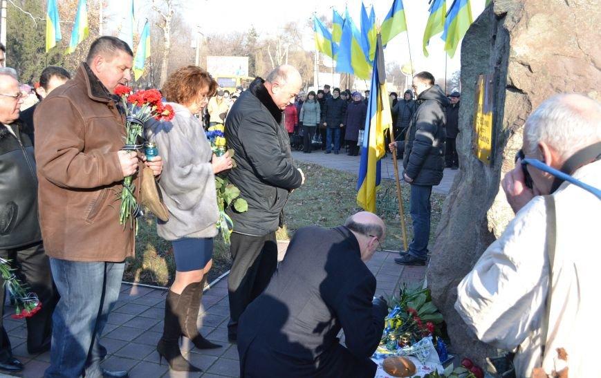 В Днепродзержинске почтили память жертв Голодомора, фото-14