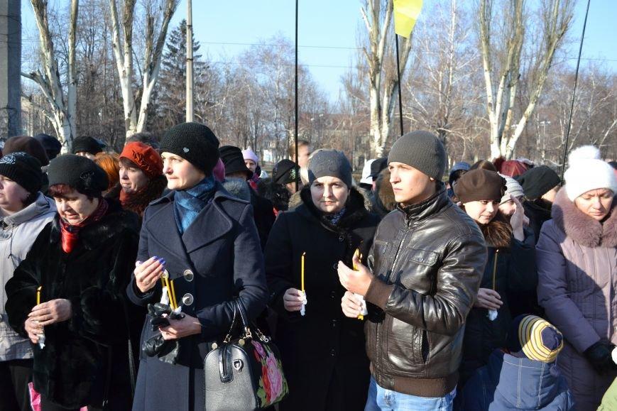 В Днепродзержинске почтили память жертв Голодомора, фото-9