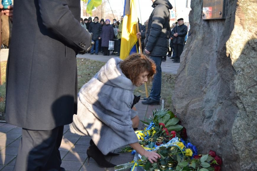 В Днепродзержинске почтили память жертв Голодомора, фото-15