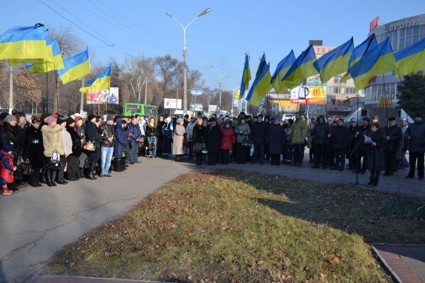 В Днепродзержинске почтили память жертв Голодомора, фото-6