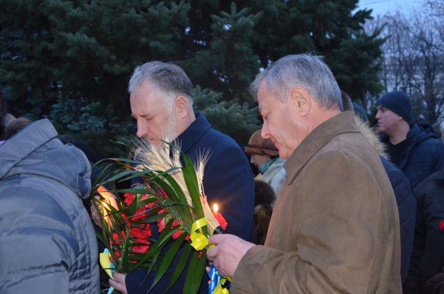 Мариупольцы почтили память жертв голодомора (ФОТОРЕПОРТАЖ+ВИДЕО), фото-18