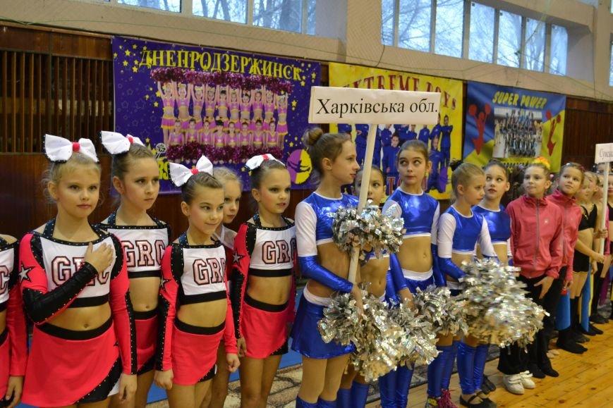 Днепродзержинск принимает Кубок Украины по черлидингу, фото-3