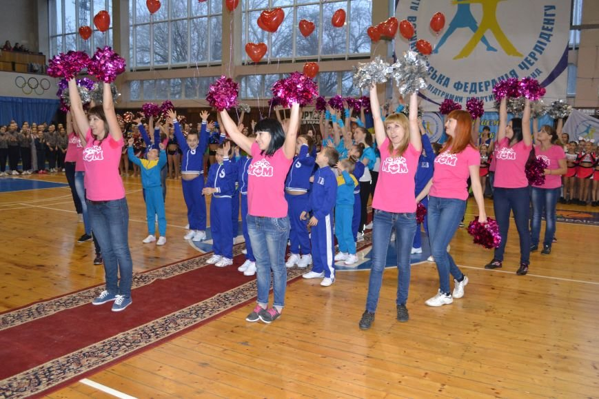 Днепродзержинск принимает Кубок Украины по черлидингу, фото-20