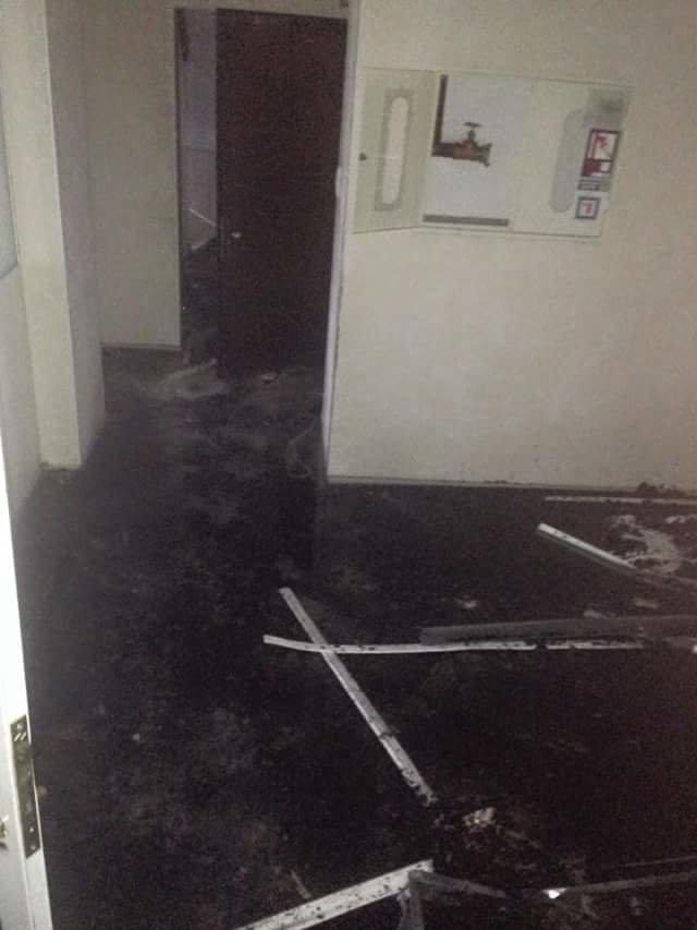 19ee7eab4f3d6b4fc0cf3315742a730a Ночной пожар на Ланжероновской: горел одесский волонтерский центр