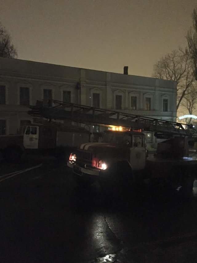 65829ed13c3366d2a0f3b5d565f9009a Ночной пожар на Ланжероновской: горел одесский волонтерский центр