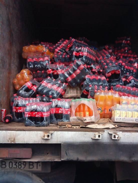 До «ДНР» не доехали четыре грузовика с продуктами и алкоголем (ФОТО) (фото) - фото 2