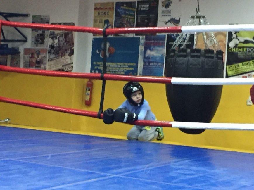 Маленькие николаевские боксеры отрабатывали приемы с Деревянченко (ФОТО) (фото) - фото 4