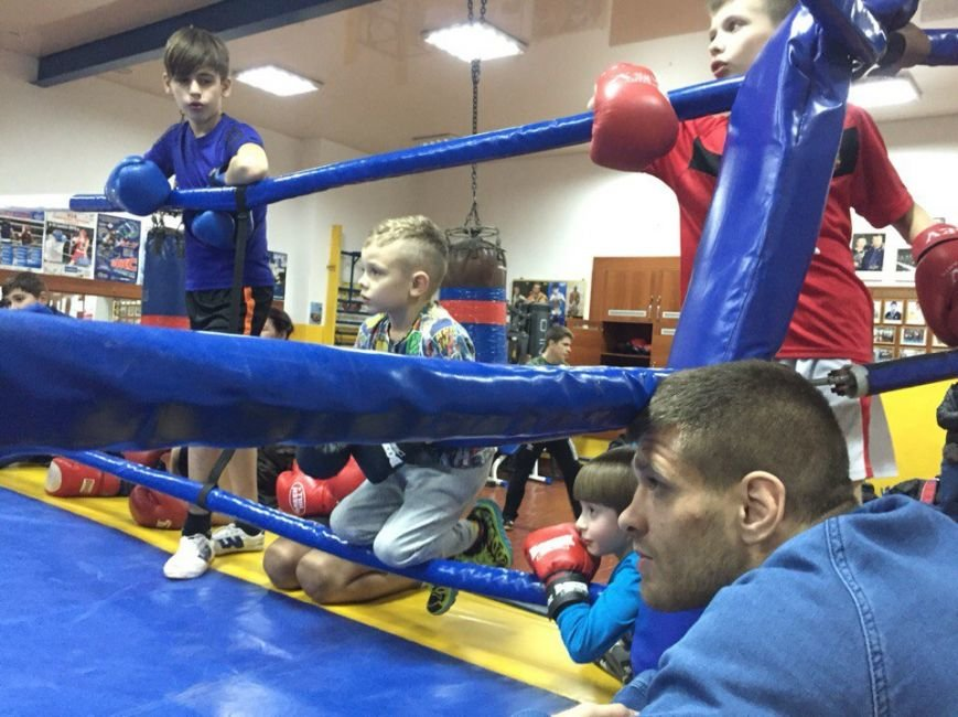 Маленькие николаевские боксеры отрабатывали приемы с Деревянченко (ФОТО) (фото) - фото 5
