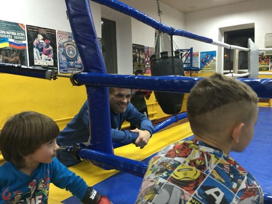 Маленькие николаевские боксеры отрабатывали приемы с Деревянченко (ФОТО) (фото) - фото 2