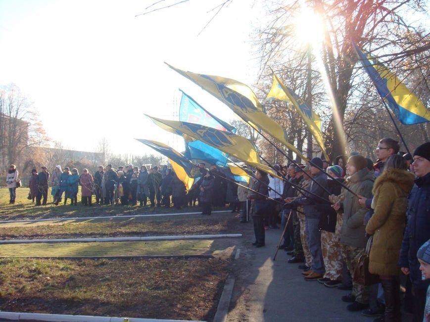 В Конотоп на день пам'яті жертвам Голодоморів завітав губернатор Сумщини, фото-2