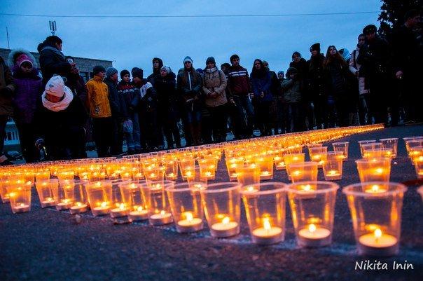 Кременчужане почтили память жертв Голодоморов (ФОТО) (фото) - фото 1