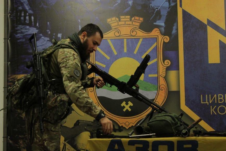 Добропольский ГК «Азов» провел первое занятие по навыкам обращения с оружием (ФОТО), фото-7