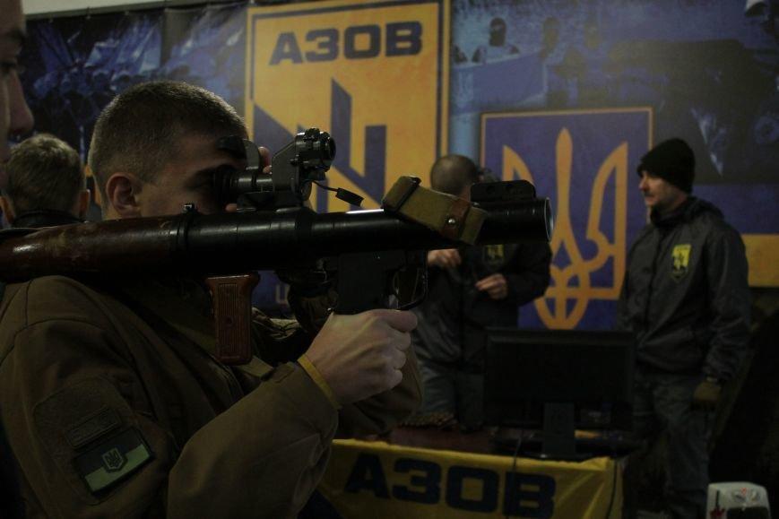 Добропольский ГК «Азов» провел первое занятие по навыкам обращения с оружием (ФОТО), фото-13