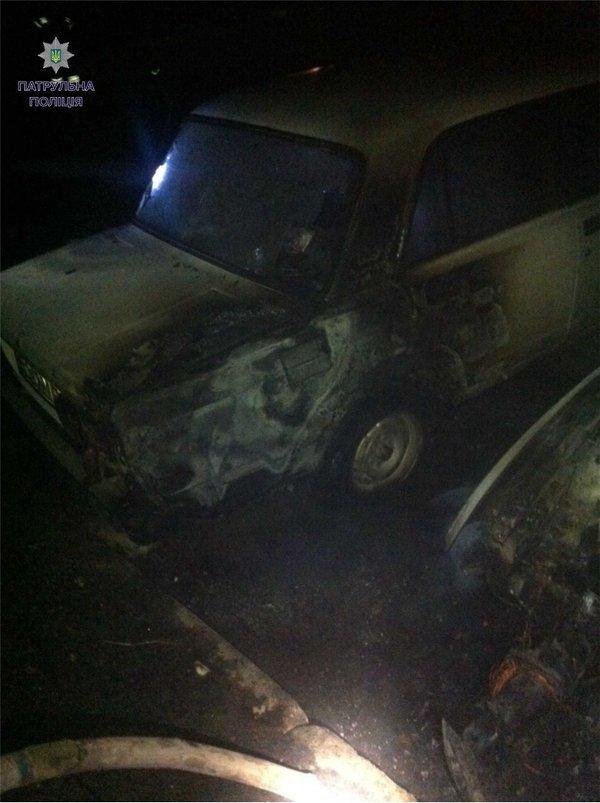 Вночі у Львові горіли 3 автівки (ФОТО) (фото) - фото 1