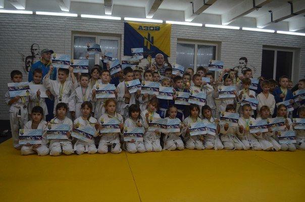 ЦК «Азов» в Мариуполе организовал турнир по дзюдо  (ФОТО) (фото) - фото 1