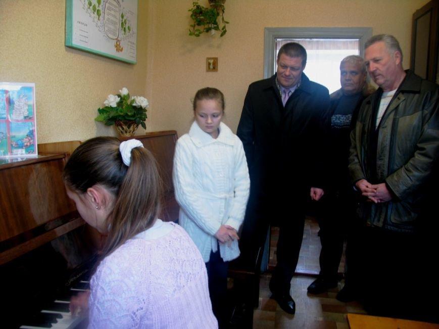 Славянское руководство РГА посетило районную школу искусств в пгт Былбасовка (фото) - фото 2