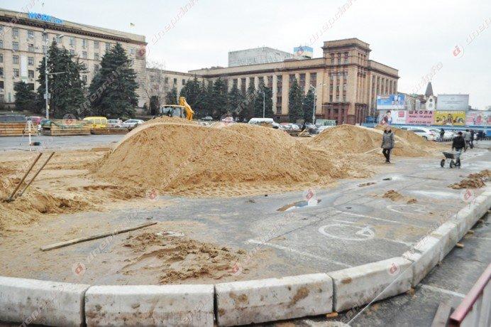В Днепропетровске строят новогодний каток (ФОТО) (фото) - фото 3