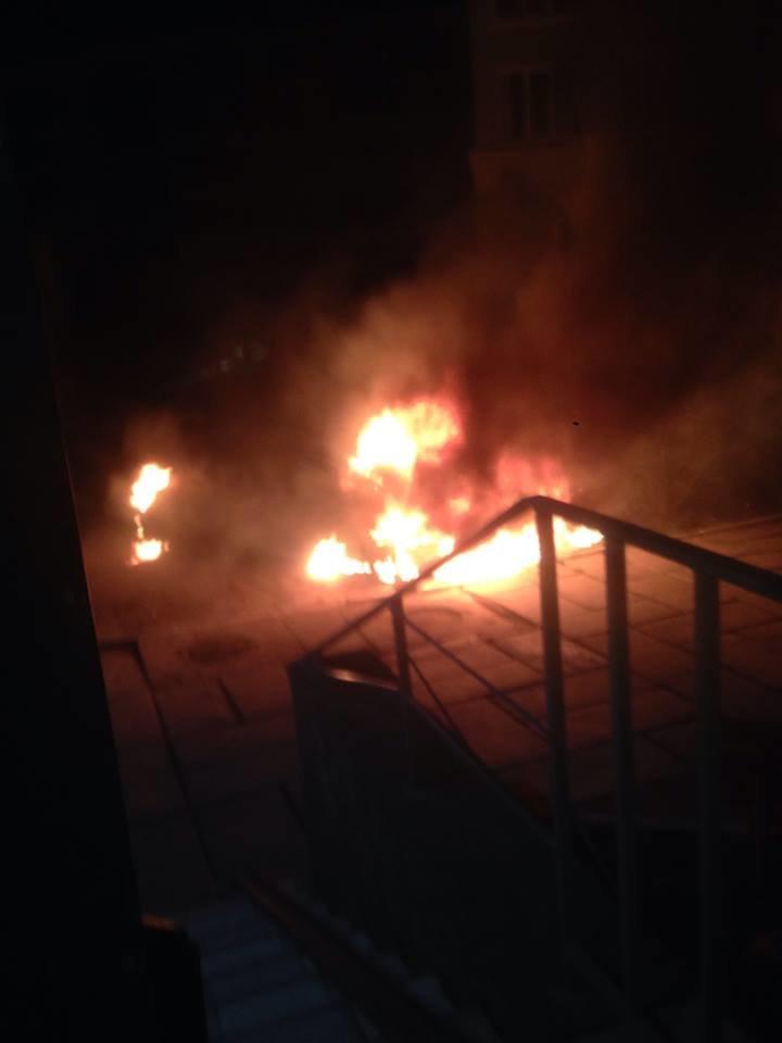 Под Одессой помощнику нардепа сожгли машину (ФОТО) (фото) - фото 1